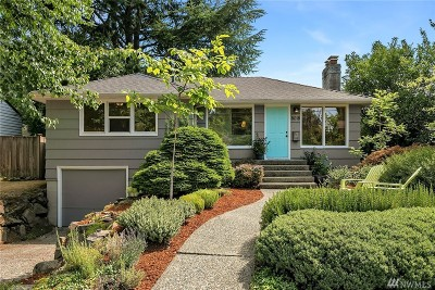 King County Single Family Home For Sale: 8018 40th Ave NE