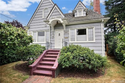 Seattle Single Family Home For Sale: 3211 NW 68 St