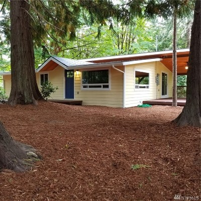 Olympia Single Family Home For Sale: 5644 Steamboat Island Rd NW