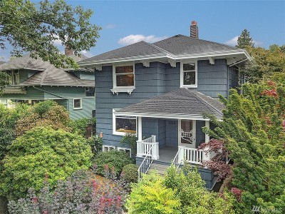 Seattle Single Family Home For Sale: 1215 17th Ave E