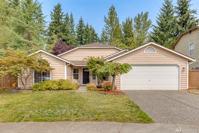 Everett Single Family Home For Sale: 13621 55th Dr SE