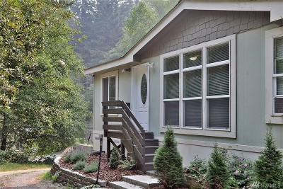 Langley Single Family Home Pending Inspection: 5745 Pioneer Park Place