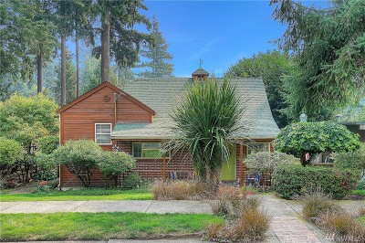 Fircrest Single Family Home For Sale: 419 Harvard Ave