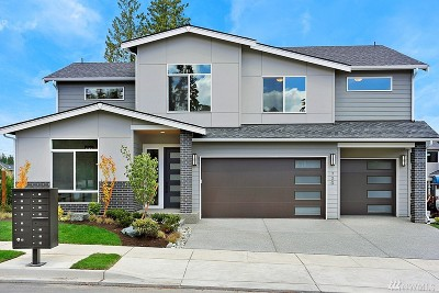 Lynnwood Single Family Home For Sale: 729 202nd (Lot 2) Place SW #2