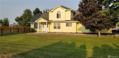 Othello Single Family Home For Sale: 621 S Wagon Rd