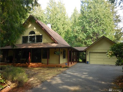 Port Orchard Single Family Home For Sale: 4487 Arvick Rd SE
