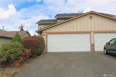 Spanaway Condo/Townhouse For Sale: 1129 184th St Ct E