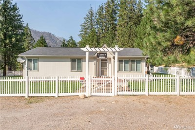 Entiat Single Family Home For Sale: 13630 Entiat River Rd