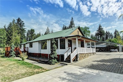 Snohomish Single Family Home For Sale: 13609 Three Lakes Rd NE
