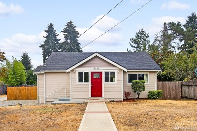 SeaTac Single Family Home For Sale: 4237 S 182nd St