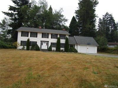 Snohomish Single Family Home For Sale: 11809 202nd St SE