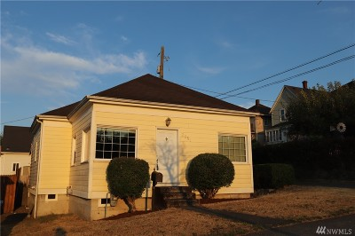 Single Family Home For Sale: 2611 McCarver St