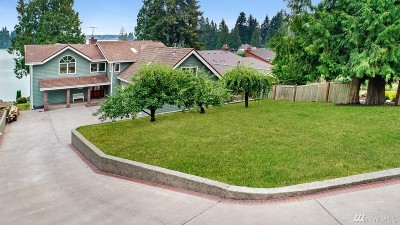Lake Tapps Single Family Home For Sale: 4105 Lakeridge Drive E
