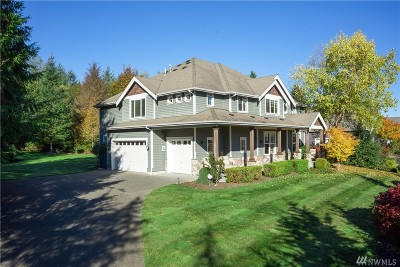 Snohomish Single Family Home For Sale: 5520 198th Dr SE