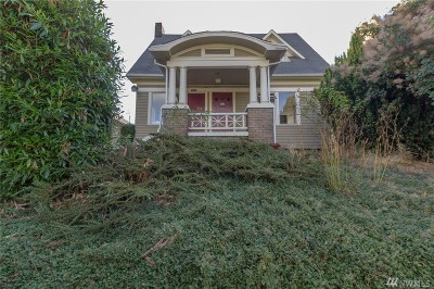 Tacoma Multi Family Home For Sale: 3823 S G St