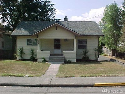 Chehalis Single Family Home For Sale: 1629 S Market Blvd