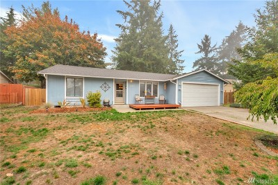 Puyallup Single Family Home For Sale: 8403 187th St Ct E
