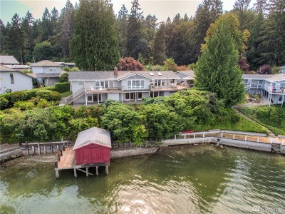 Gig Harbor Single Family Home For Sale: 3925 Forest Beach Dr NW
