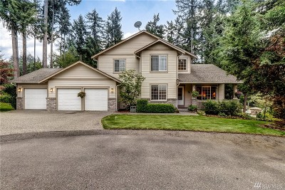 Lake Tapps Single Family Home For Sale: 18310 59th St Ct E