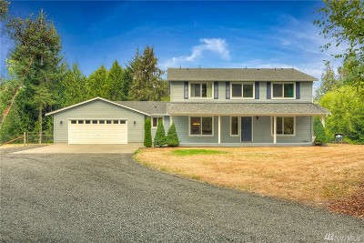 Single Family Home For Sale: 8727 Steamboat Island Rd NW