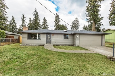 Spanaway Single Family Home For Sale: 16909 16th Ave E