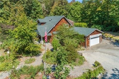 Olympia Single Family Home For Sale: 8142 Kerbaugh Rd NE