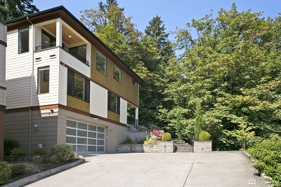 Single Family Home For Sale: 1843 W Lake Sammamish Pkwy SE