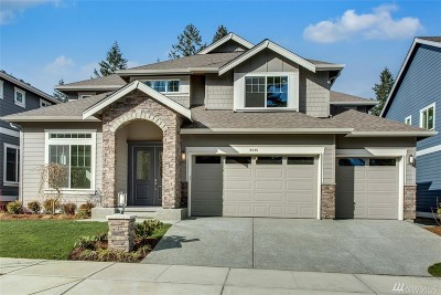 Sammamish Single Family Home For Sale: 2645 242nd Ave SE #Lot07