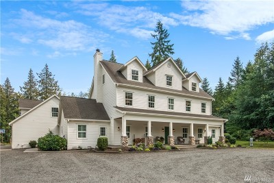 Gig Harbor Single Family Home For Sale: 3515 109th St Ct NW