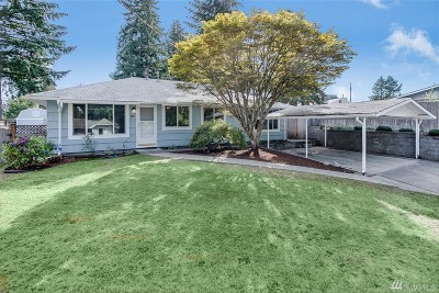 Renton Single Family Home For Sale: 4411 SE 2nd Place