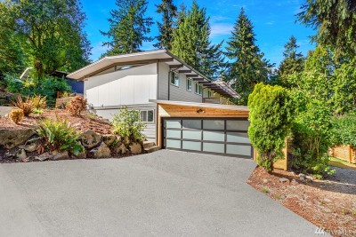 Bellevue Single Family Home For Sale: 4457 119th Ave SE