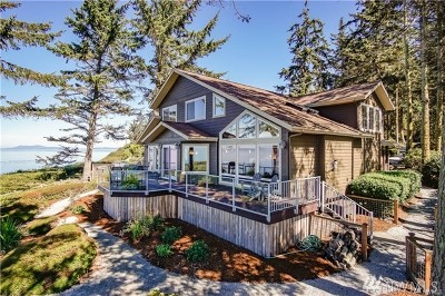 Oak Harbor Single Family Home Sold: 1677 West Beach Rd