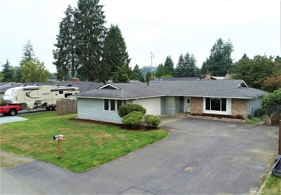 Sedro Woolley Single Family Home Sold: 822 Evans Dr