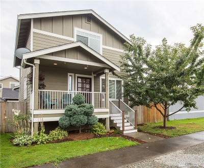 Sumas Single Family Home Sold: 313 Cleveland Ave