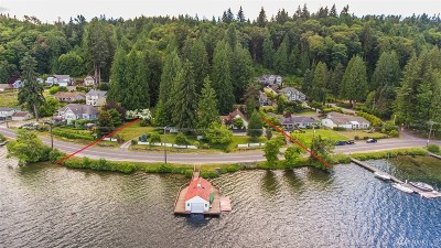Bellingham Single Family Home For Sale: 2729 Lake Whatcom Blvd