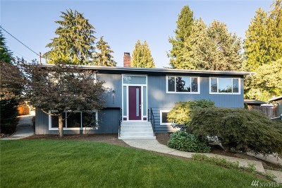 Kenmore Single Family Home For Sale: 18732 58th Ave NE
