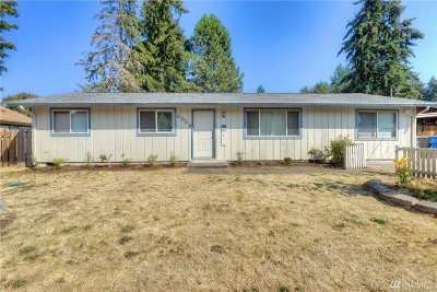 University Place Single Family Home For Sale: 6009 57th Ave W