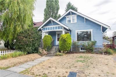 Bellingham Single Family Home Sold: 1224 Grant St