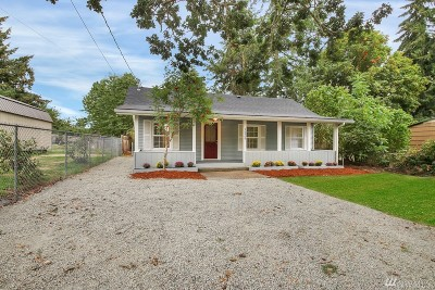 Spanaway Single Family Home For Sale: 16909 Park Ave S