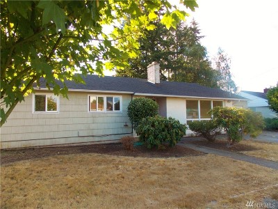 Centralia Single Family Home For Sale: 1225 View St