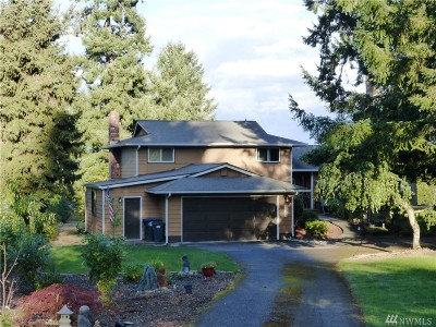 Single Family Home For Sale: 2832 Nisqually View Lp NE