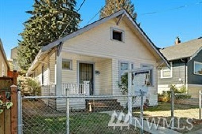 Seattle Single Family Home For Sale: 5717 46th Ave S