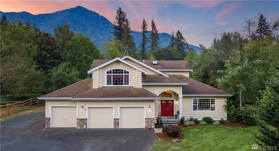 North Bend WA Single Family Home For Sale: $975,000