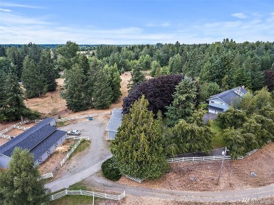 Yelm Farm For Sale: 13530 Solberg Rd SE