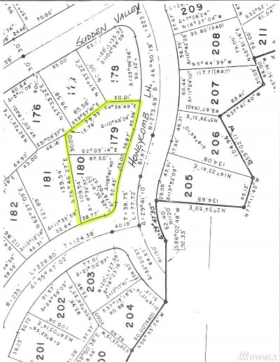 Sudden Valley Residential Lots & Land For Sale: 77 Honeycomb Lane