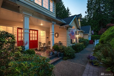 Langley Single Family Home Sold: 1046 Cedar Cir