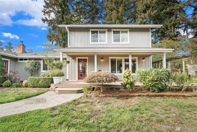Yelm Single Family Home Contingent: 12840 State Route 507