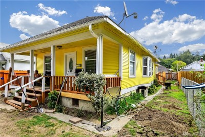 Mount Vernon Single Family Home For Sale: 1126 Railroad Ave