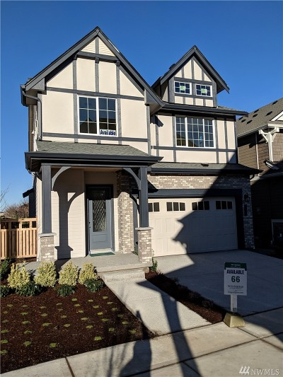 Issaquah Single Family Home For Sale: 478 6th (Lot 66) Lane NE