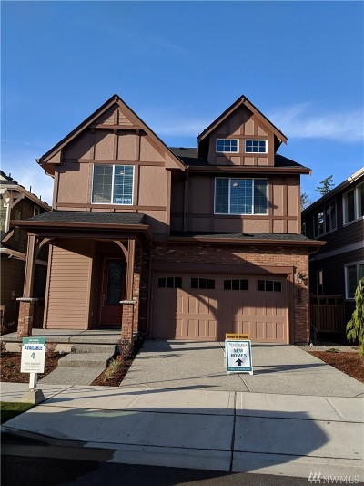 Issaquah Single Family Home For Sale: 459 6th (Lot 4) Lane NE